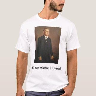 Camiseta calcool, Calvin Coolidge