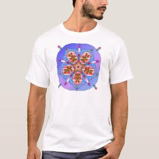 Camiseta Caleidoscópio dos ursos e das abelhas