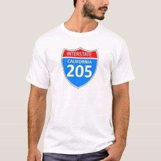 Camiseta Califórnia 205 de um estado a outro