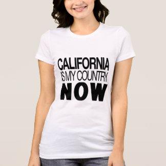 Camiseta Califórnia é meu país agora