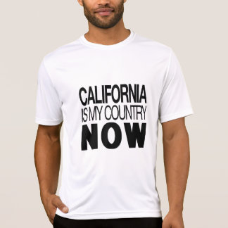 Camiseta Califórnia é meu país agora T