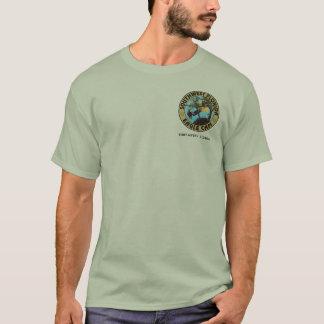 Camiseta Calvo é o t-shirt bonito da águia americana