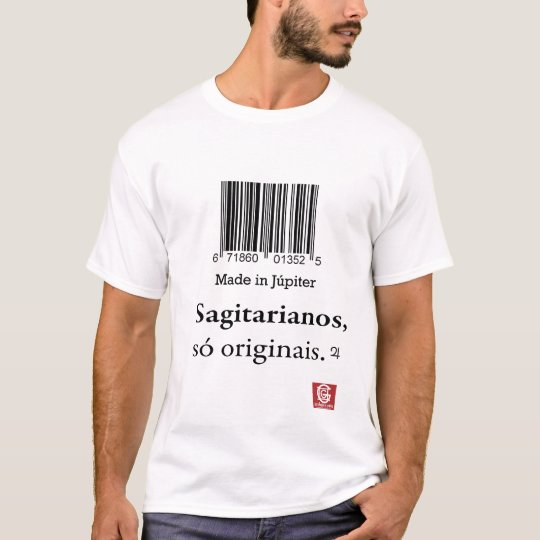 "Camiseta Cam.Masc. ""Made in Júpiter"""