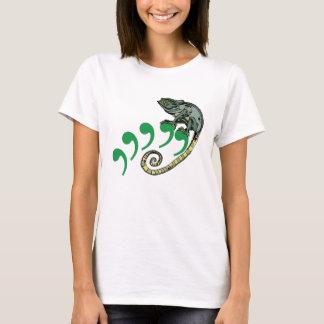 Camiseta Camaleão da vírgula