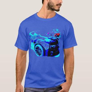 Camiseta Camaro ZL1 na sala de exposições