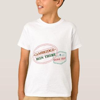 Camiseta Cambridge feito lá isso
