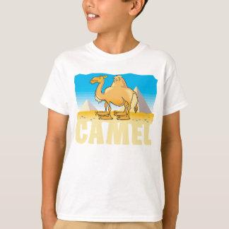 Camiseta Camelo amigável do miúdo