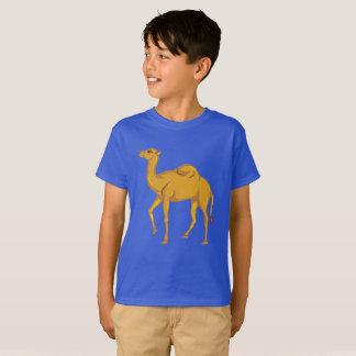 Camiseta Camelo bonito do vetor