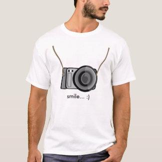 Camiseta Câmera do sorriso