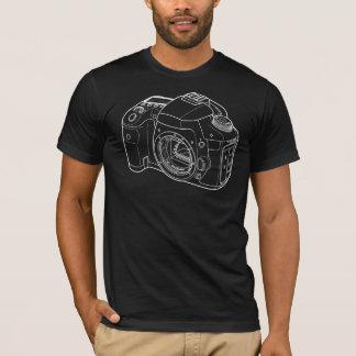 Camiseta Câmera quente do fotógrafo