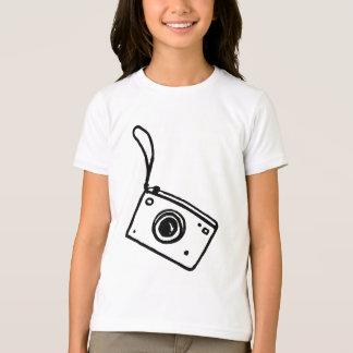 Camiseta Câmera - T da campainha das meninas