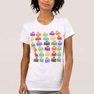 Camiseta Câmeras coloridas