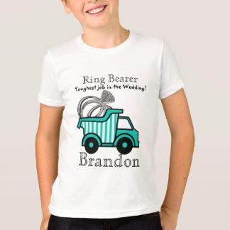 Camiseta Camião basculante do portador de anel