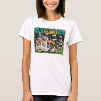 Camiseta Caminhada 2016 para o t-shirt feito sob encomenda