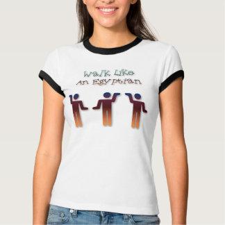 Camiseta Caminhada como um egípcio