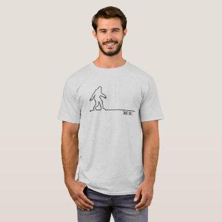 Camiseta Caminhada de Bigfoot