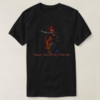 Camiseta Caminhada entre o t-shirt dos titã
