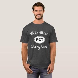 Camiseta Caminhada pacífica da fuga da crista mais