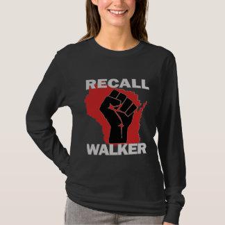Camiseta Caminhante do aviso de Wisconsin