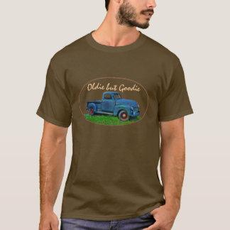 Camiseta Caminhão 1947 do azul de GMC 100 da antiguidade