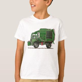 Camiseta Caminhão de lixo bonito do caminhão de lixo