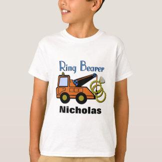 Camiseta Caminhão de reboque do portador de anel