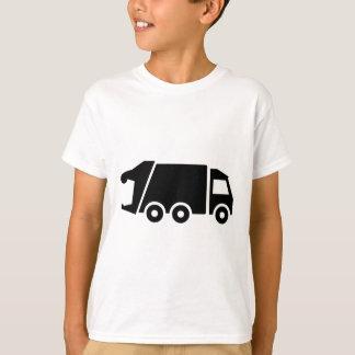 Camiseta Caminhão do carro do lixo