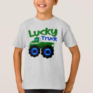 Camiseta Caminhão do dia do St Patrick conhecido do miúdo