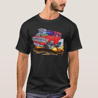 Camiseta Caminhão do vermelho de Hummer H2