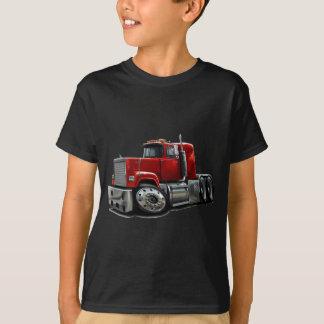 Camiseta Caminhão do vermelho do Superliner de Mack