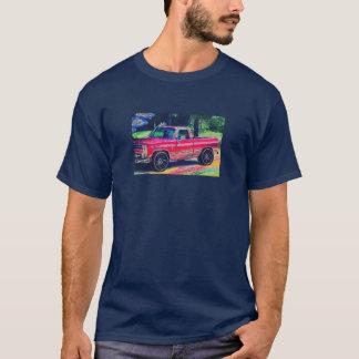 Camiseta caminhões divididos
