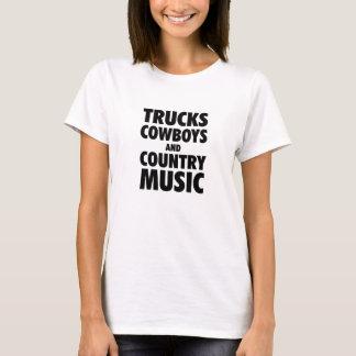 Camiseta Caminhões, vaqueiros e música country