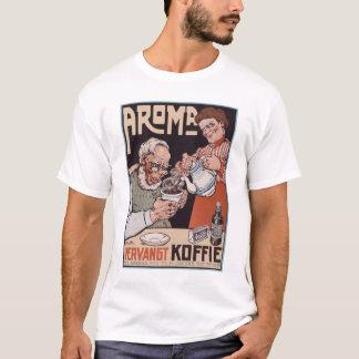 Camiseta Camisa: Anúncio do café: Aroma Vergangt Koffie