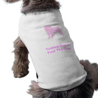 Camiseta Camisa chinesa do cachorrinho do Pug