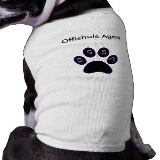 Camiseta Camisa de Offishuls para agentes!