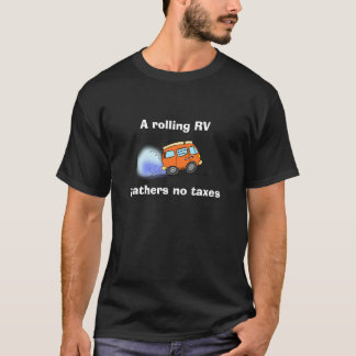 """Camiseta """"Camisa de T De um rv de rolamento… """""""