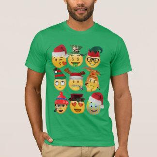 Camiseta camisa-design engraçado da coleção do emoji do