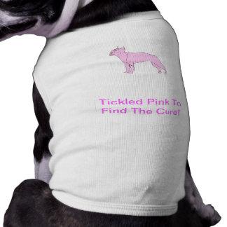 Camiseta Camisa do cachorrinho de Boston Terrier