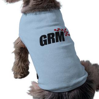 Camiseta Camisa do cachorrinho do Motorsports das bases