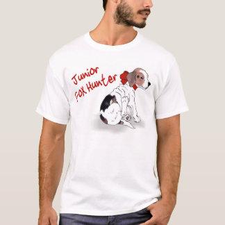 """Camiseta """"Camisa do filhote de cachorro de Foxhunter"""