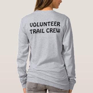 """Camiseta """"Camisa do grupo voluntário da fuga"""" com logotipo"""