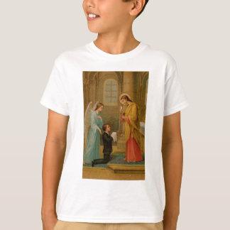 Camiseta Camisa: Feliz está a alma