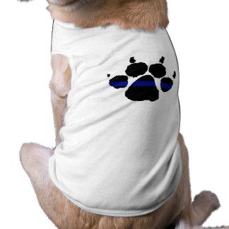 Camiseta Camisa fina da pata K-9 de Blue Line