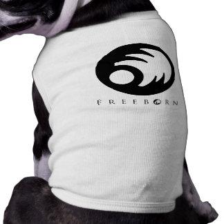 Camiseta Camisa Freeborn do cachorrinho T