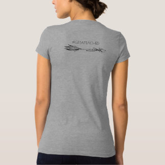 Camiseta Camisa-#getattached da consciência T da