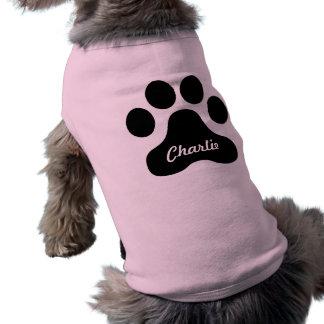 Camiseta Camisa gigante do impressão do cão