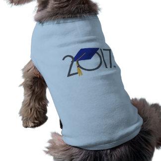 Camiseta Camisa graduada do tanque do animal de estimação