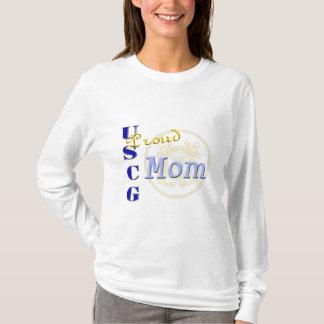 """Camiseta """"Camisa militar das senhoras da mamã orgulhosa de"""