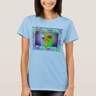 Camiseta Camisa-Mulheres de Purim