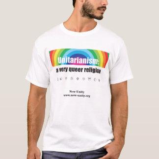 """Camiseta """"Camisa nova da religião estranha"""" da unidade"""